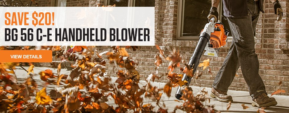 Save $20 on the BG 56 C-E Handheld Blower